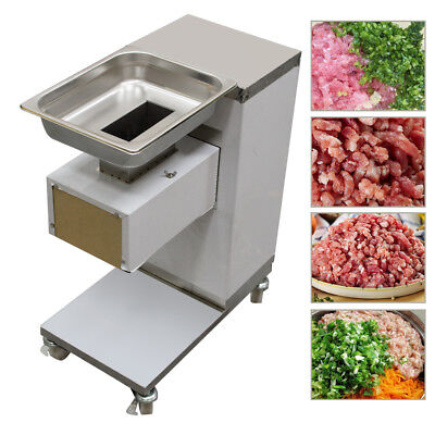 110v Stainless Commercial Meat Slicer Cutting Machine Cutter For Restaurants Use