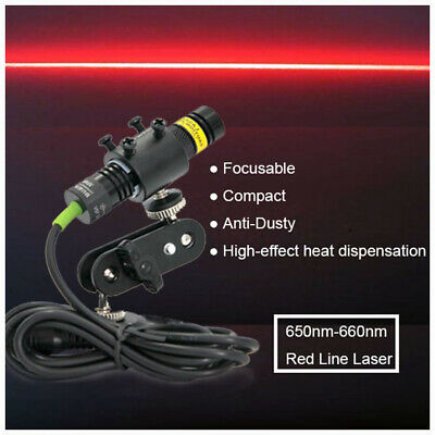 Focusable 660nm 100mw Red Laser Line Modulefor Stonewood Cut Locating