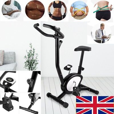 LCD Training Cycle Exercise Bike Fitness Cardio Workout Home Cycling Machine New