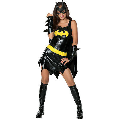 Hero Halloween Costumes (Batman Batgirl Hero Teen Halloween)