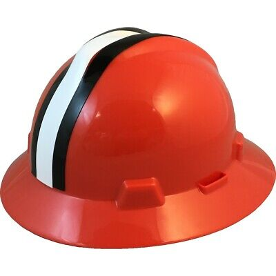 Cleveland Browns Msa Nfl Full Brim Hard Hat With Fas Trac Suspension