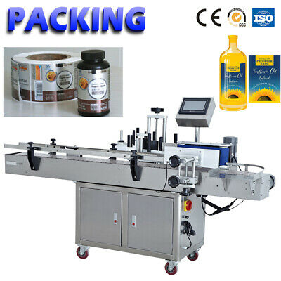 Mt-200 Automatic Round Bottle Labeling Machine Glass Plastic Bottle Labeler