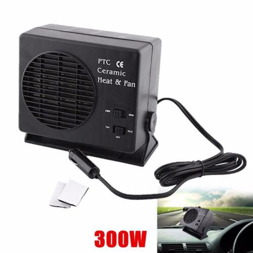 12V Portable Plastic Ceramics Heater Fan Auto Temperature Control Device for Car