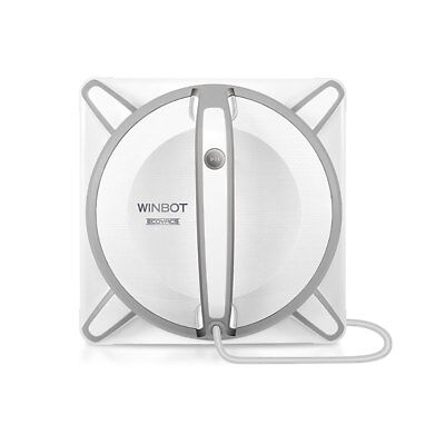 Ecovacs WINBOT 930 Automatic Smart Microfiber Pad Window Cleaning Robot, White