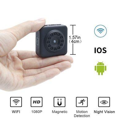 Wifi Mini Spy Camera 1080P HD LXMIMI Super Piccola Telecamera Nascosta (U4C)
