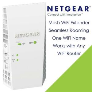 NETGEAR AC2200 Mesh WiFi Extender, Seamless Roaming, One WiFi Name, Works with Any WiFi Router. Create Your own Mesh ...