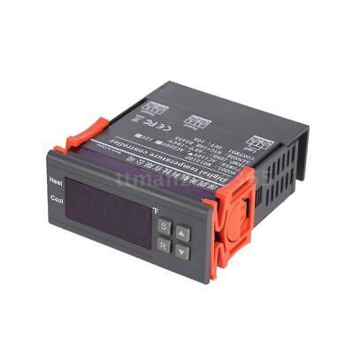 Ac 10a 110v Digital Temperature Controller Temp Sensor Thermostat Control Relay