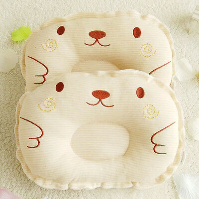 Baby Infant Head Positioner Pillow Prevent Flat Anti Roll Sleep Cushion US STOCK
