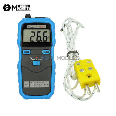 Btm01 Bside 1.77in Digital 2-channel Handhold K-type Temperature Thermometer