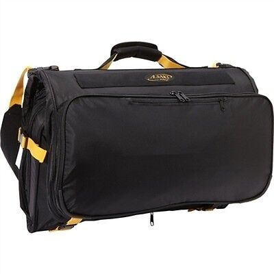 A.Saks Compact Expandable Trifold Carry On Garment Bag Black AE-45