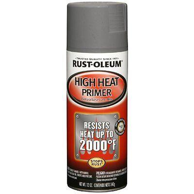 Spray Paint Rust-Oleum 249340 Automotive 12-Ounce High Heat Primer Paint, - Spray Paint Gray Primer