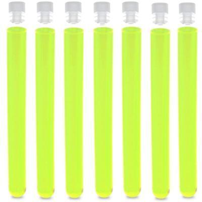 16x150mm PS Test Tubes, Round Bottom, Neon Green Karter Scientific (100 pack) Round Bottom Test Tube