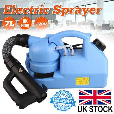 7L Portable Electric ULV Fogger Garden Sprayer Disinfection Ultra Low Capacity