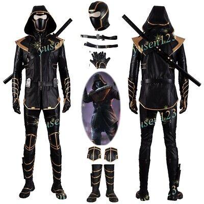 Avengers 4 Endgame Hawkeye Ronin Costume Shoes Halloween Cosplay Comic Con - Hawkeye Comic Costume