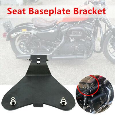 Motorcycle Bike Solo Seat Baseplate Bracket Fit For Honda Yamaha Kawasaki Bobber