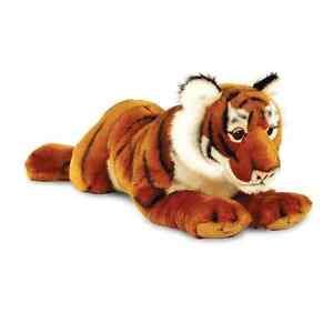Keel Toys Wild - 46cm Tiger Cuddly Soft Toy Plush /Teddy SW3667