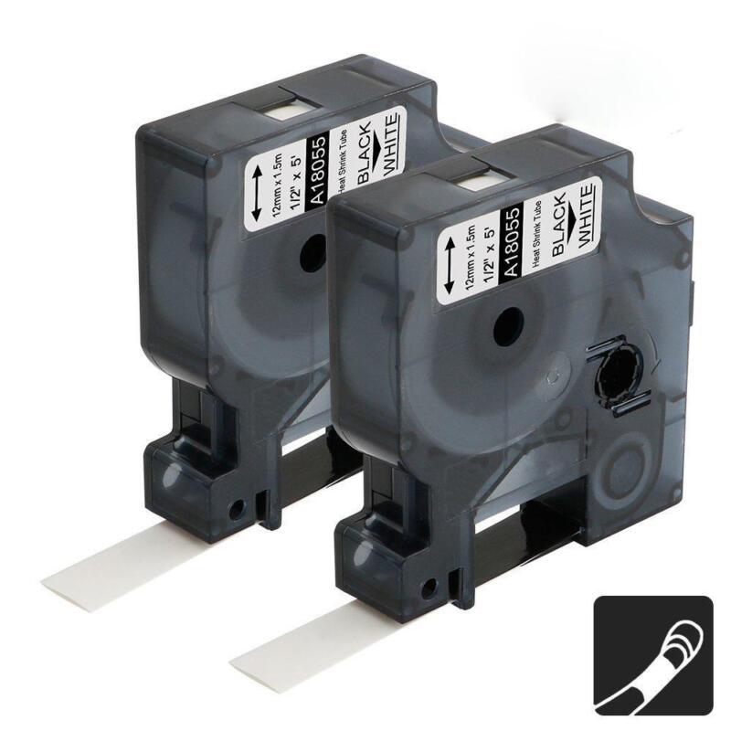 18055 Industrial Dymo Rhino Rhino 4200 5200 Heat Shrink Tubes Cable Label Tape