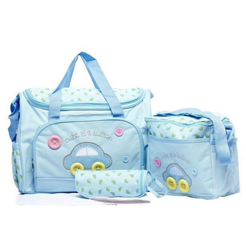Baby Baby nappy changing bag set 4PCS Brand New Cute diaper bags UK Seller