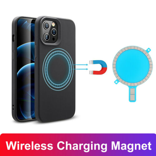 For Mag safe Case Magnet Sticker Wireless Charging Magnetic For iPhone 12 Pro Cell Phone Accessories