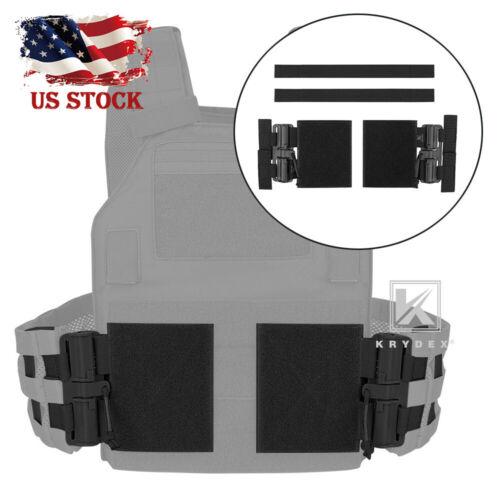 KRYDEX Tactical Quick Release Assembly Rapid Connector fo JPC CPC AVS Vest Black
