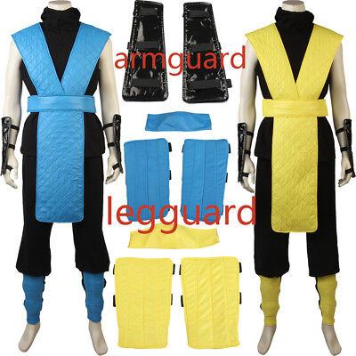 Mortal Kombat X Scorpion Tabard Cosplay Ninja Costume Hallowee Men All Size Suit - All Scorpion Costumes