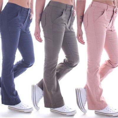 Damen Bootcut Jeans Schlaghose Hüftjeans Stretch Schlagjeans Flared Marlene B47 Jeans Flared Jeans