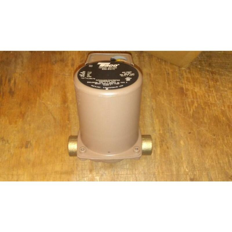TACO 006-B4-11/99K69 BRONZE CARTRIDGE CIRCULATING PUMP 1/40HP, 115V/60HZ 167030