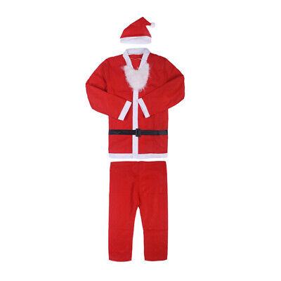 Weihnachtsmannkostüm Kostüm Weihnachtsmann Santa Nikolaus mit Bart und - Mann Kostüm Perücke