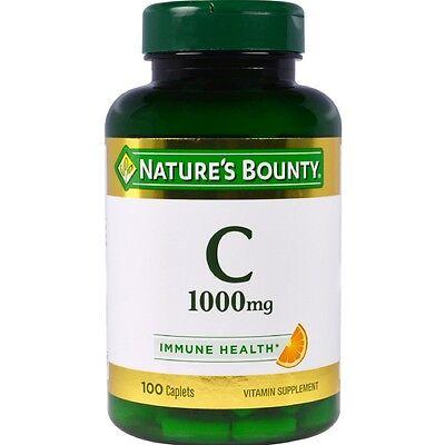 Nature's Bounty Vitamin C 1000 mg Immune Health Caplets 100 ea