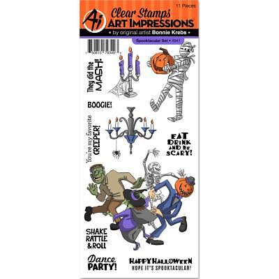 ktacular Stamps - Halloween, Mummy, Monster Mash, Party (Spooktacular Halloween-party)