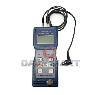 New Tm-8811 Digital Ultrasonic Wall Thickness Meter Tester Testing Gauge