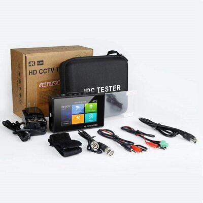 4 Hd Ip Cctv Tester Monitor H.265 4k Cvi Tvi Ahd Tester Wifi 8mp 5mp Poe 12v