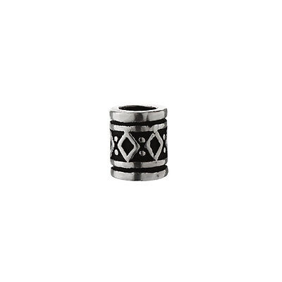 Haarschmuck Bartperle Lockenperle FYRKAR Wikinger Style 925 Sterlingsilber 6474