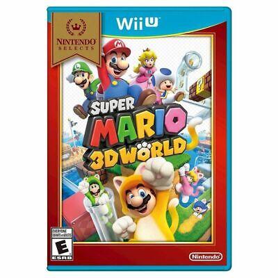 Super Mario 3D World Nintendo Wii U Brand New Nintendo Selects segunda mano  Embacar hacia Argentina