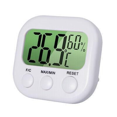 Digital LCD Indoor Temperature Sensor Humidity Thermometer Hygrometer Gauge USPS