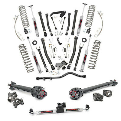 6 Inch COMPLETE Suspension Lift Kit for Jeep Wrangler JKU 2007-2011 4-Door