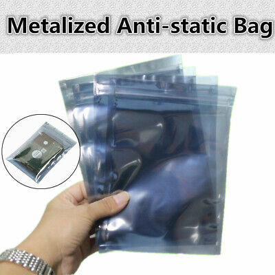 Esd Anti-static Shielding Bag Translucent Zip Lock Resealable Bags Us