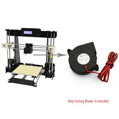 3D Printer Brushless Cooling Blower Fan DC 12V 0.18A Oil Bearing 50*50*15mm R7J2