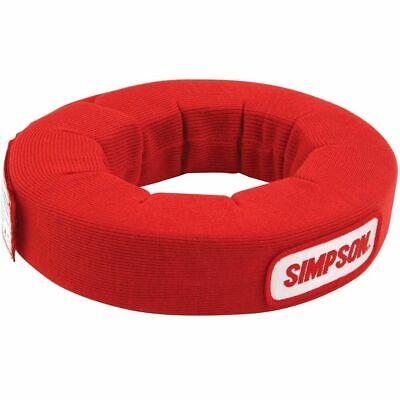 Simpson Neck Collar SFI Red