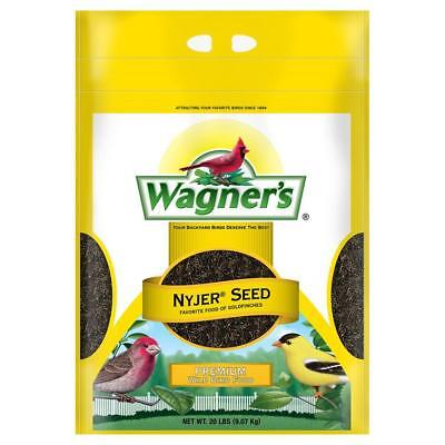 Wagners 20 lb. Nyjer Seed Perfect Thistle Highest Quality Ideal Wild Bird Food
