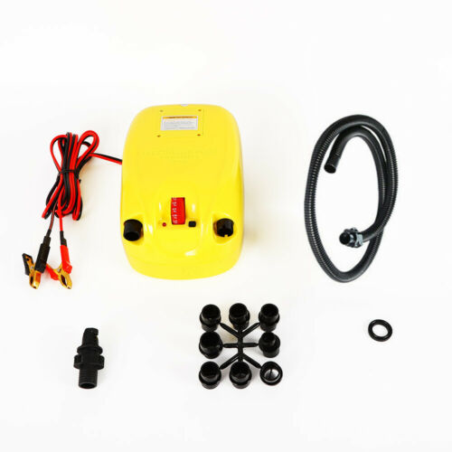 High Pressure 12V Electric Air Pump For Inflatable Boat Raft
