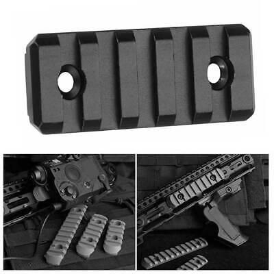 3/5/13 Slot M-LOK Picatinny Weaver Rail Segment Handguard Section Aluminum new