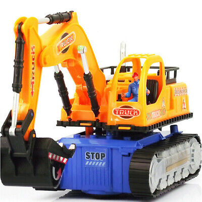 - Model Of Excavator RC Construction Tractor Vehicle Truck Toy Digger Car Gift T7
