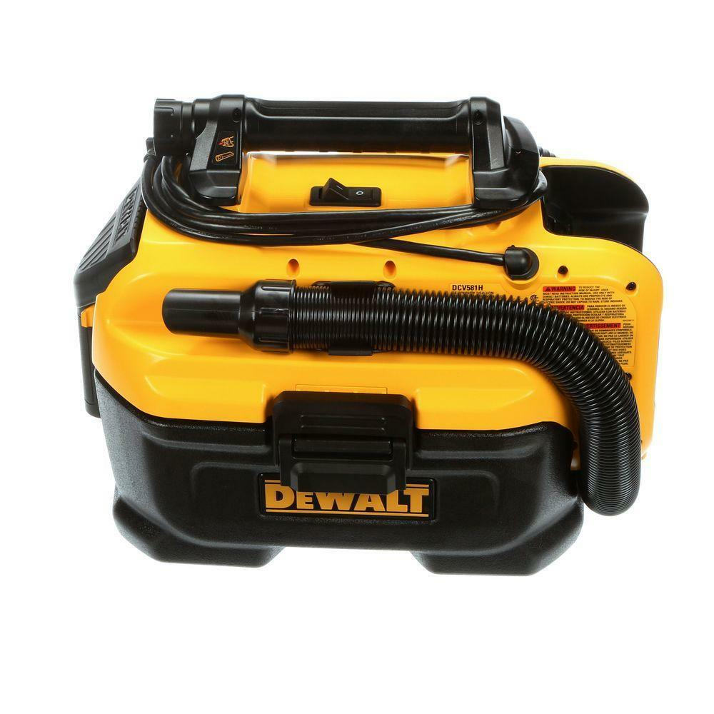 DeWALT 2-Gallon Shop/Car Vacuum AC-Corded & Battery-Powered