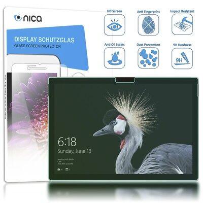 NALIA Schutzglas für Surface Pro (17), 9H Glasfolie Tablet Displayschutz