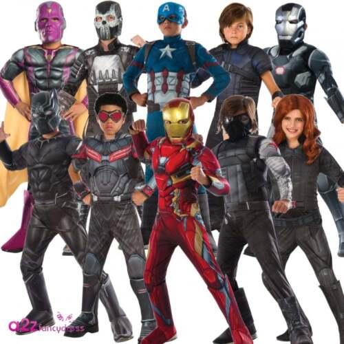 Boys Deluxe Captain America Civil War Marvel Superhero