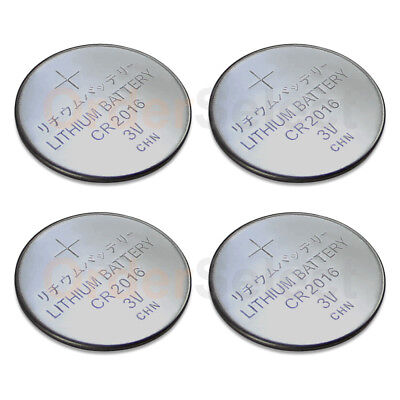 4 PACK NEW Battery Coin Cell Button Watch Calculator 3V CR2016 CR 2016 US Seller