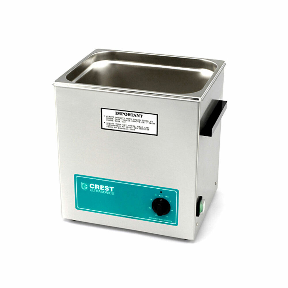 Crest CP1100T Ultrasonic Cleaner with Analog Timer-3.25 Gall