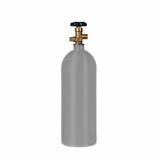5 lb. Aluminum Reconditioned CO2 Cylinder CGA320 Valve - Fresh Hydro - Durable