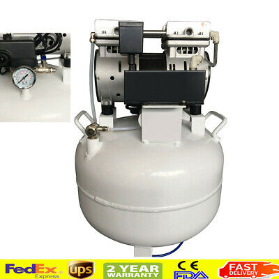 Dental Noiseless Oil Free Oilless Air Compressor For Dental Chair 40l 130lmin